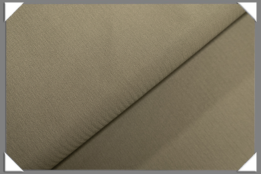 Tan Vegan Herringbone Fabric