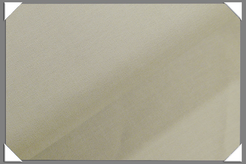 Ivory Vegan Sharkskin Fabric