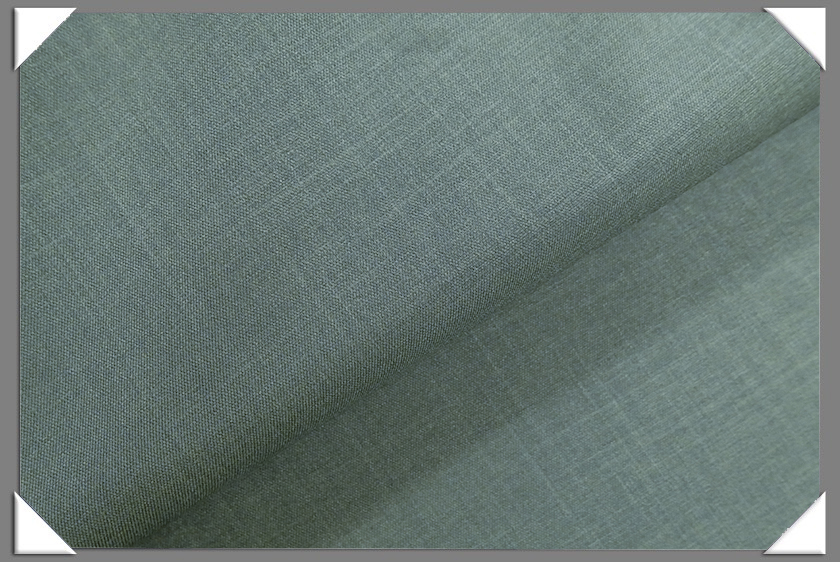 Olive Vegan Sharkskin Fabric
