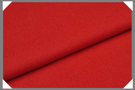 Red Flannel Fabric