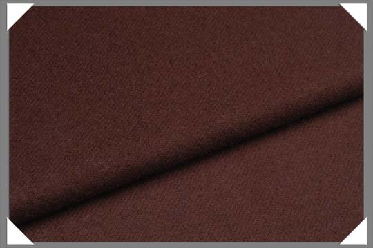 Dark Brown Flannel Fabric