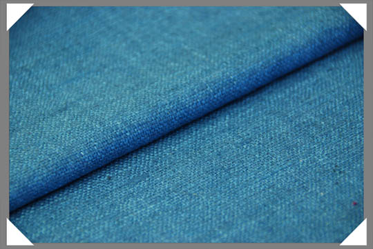 Steel Blue Matka Fabric