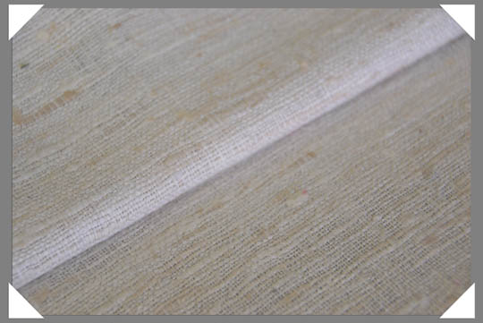 White Matka Fabric