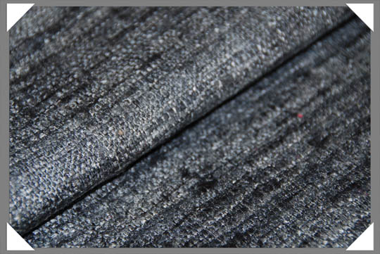 Grey Matka Fabric