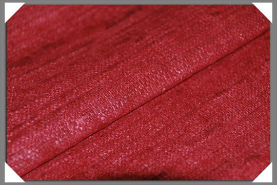 Red Matka Fabric