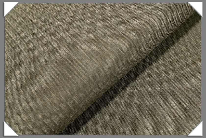 Taupe Vegan Herringbone Fabric