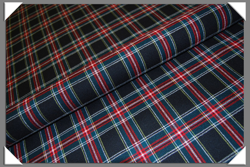Sutherland Tartan Plaid Fabric