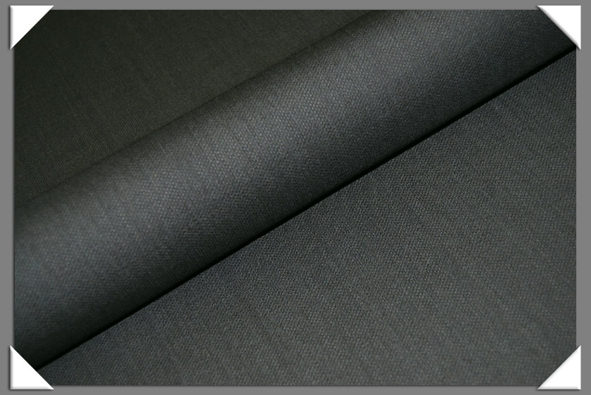 Olive Texture Suiting Fabric