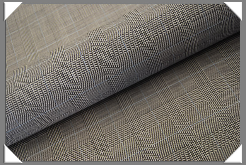 Prince of Wales Suiting Fabric
