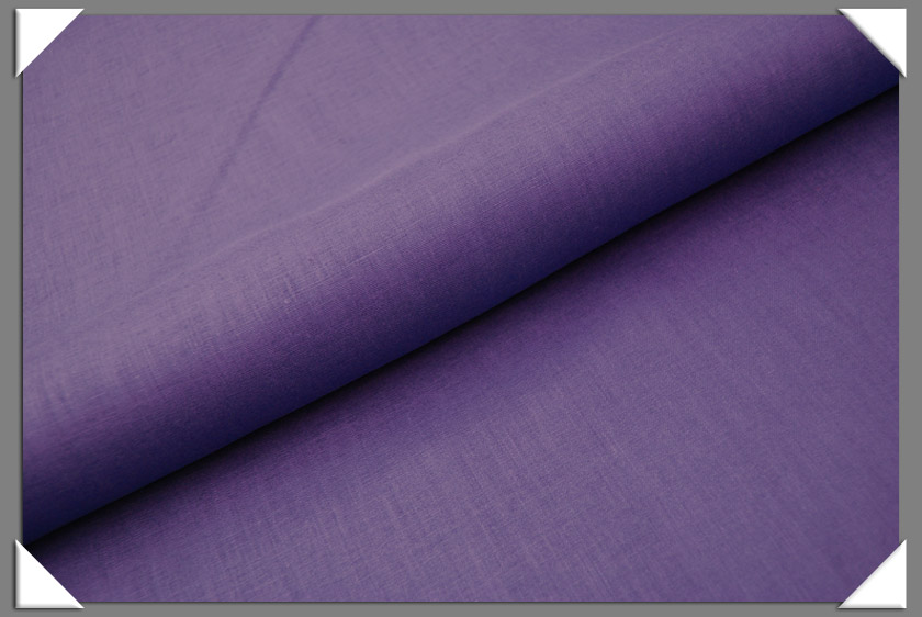 Purple Linen Fabric