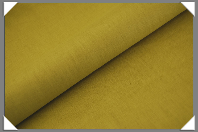 Chartreuse Linen Fabric