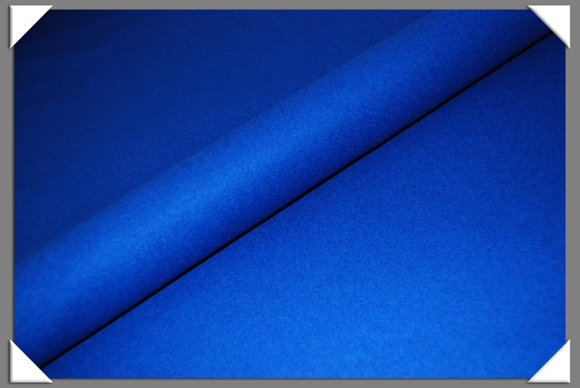 Royal Blue Wool/Nylon Melton Fabric