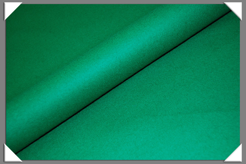 Kelly Green Wool/Nylon Melton Fabric