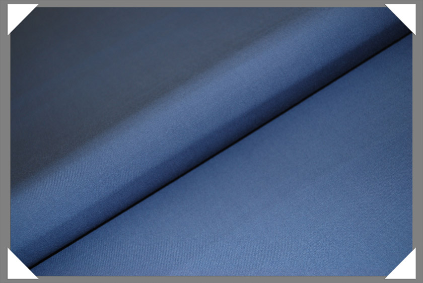 Medium Blue Gabardine Fabric