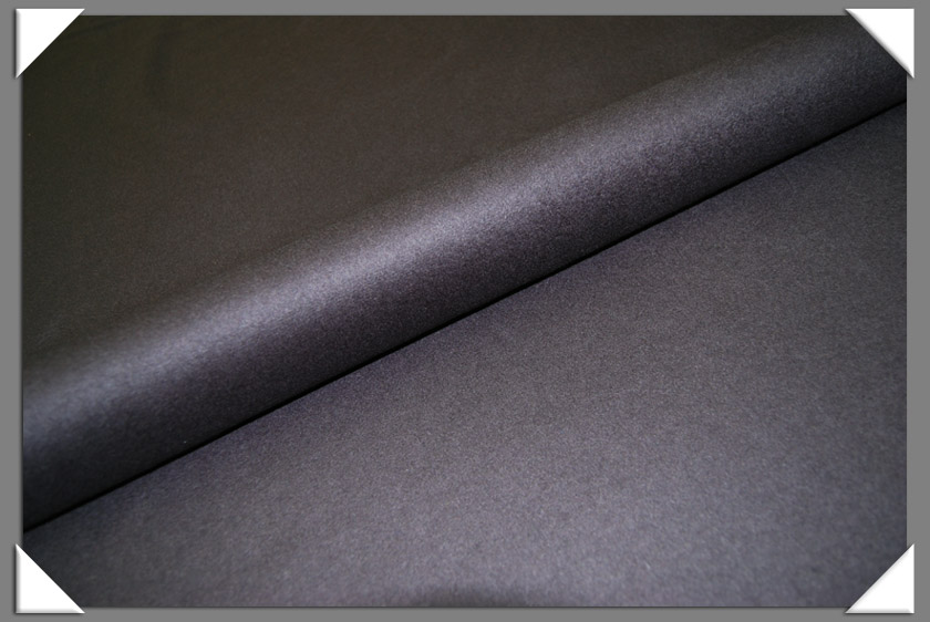 Grey Cashmere/Wool Fabric