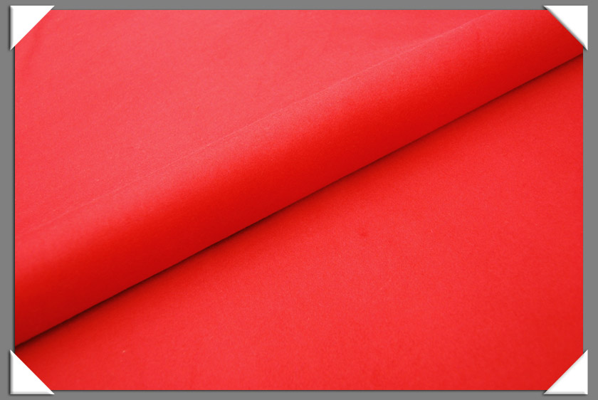 Red Cashmere/Wool Fabric