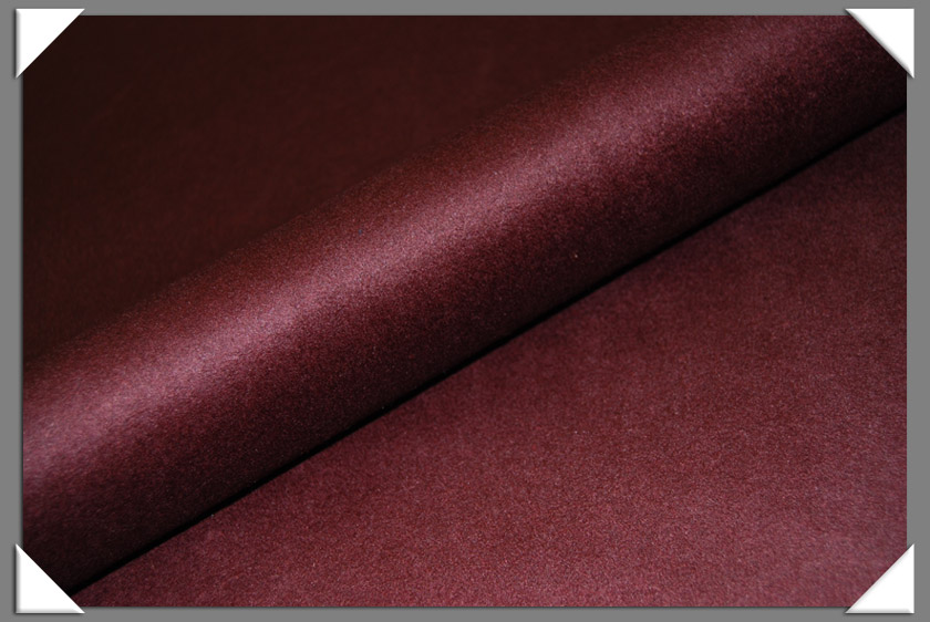 Wine Cashmere/Wool Fabric