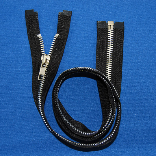 #5 Aluminum Separating Jacket Zipper