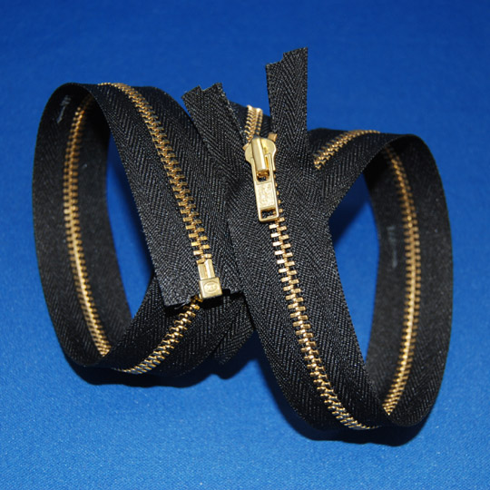 #3 Brass Separating Jacket Zipper