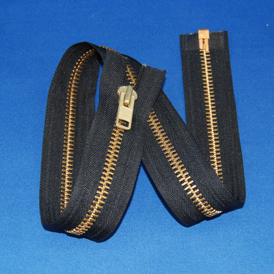 #10 Brass Separating Zipper