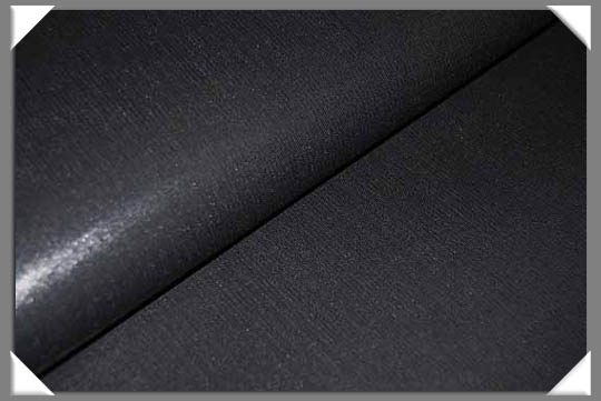 "Black Medium Weight Collar Interfacing 45"" - Fusible"