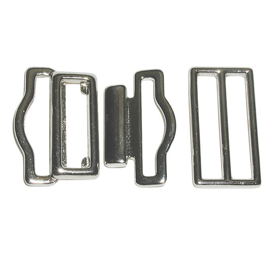 Cummerbund Buckles - Nickel