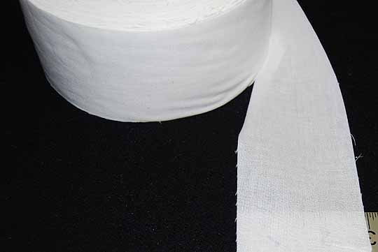 "Cotton Fusible Sleeve Interfacing - 3"" Wide - 100 Yard Roll"
