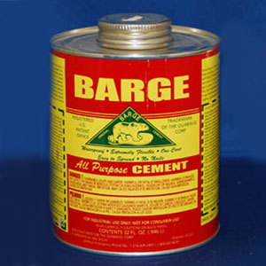 Barge All Purpose Cement - One Quart Can
