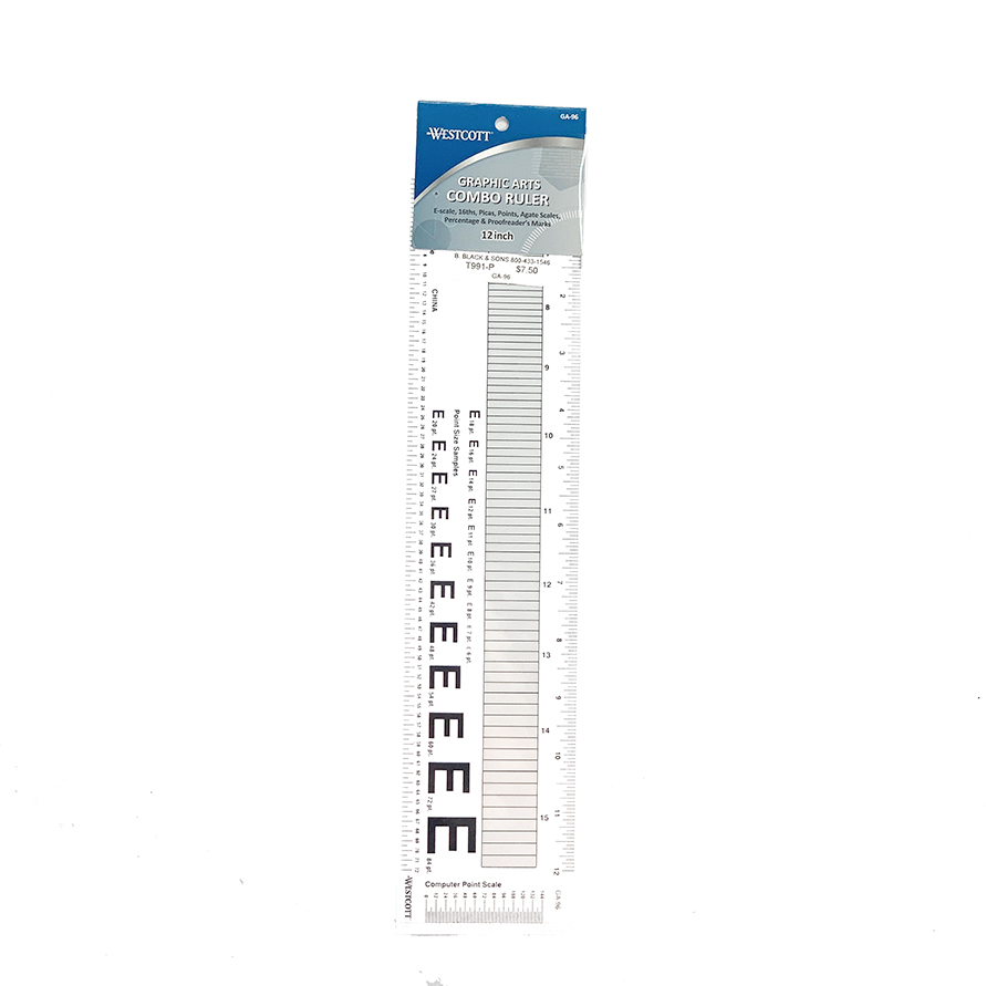 Graphic Arts Combo Ruler