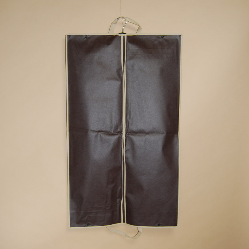 Designer Folding Garment Bag - Brown