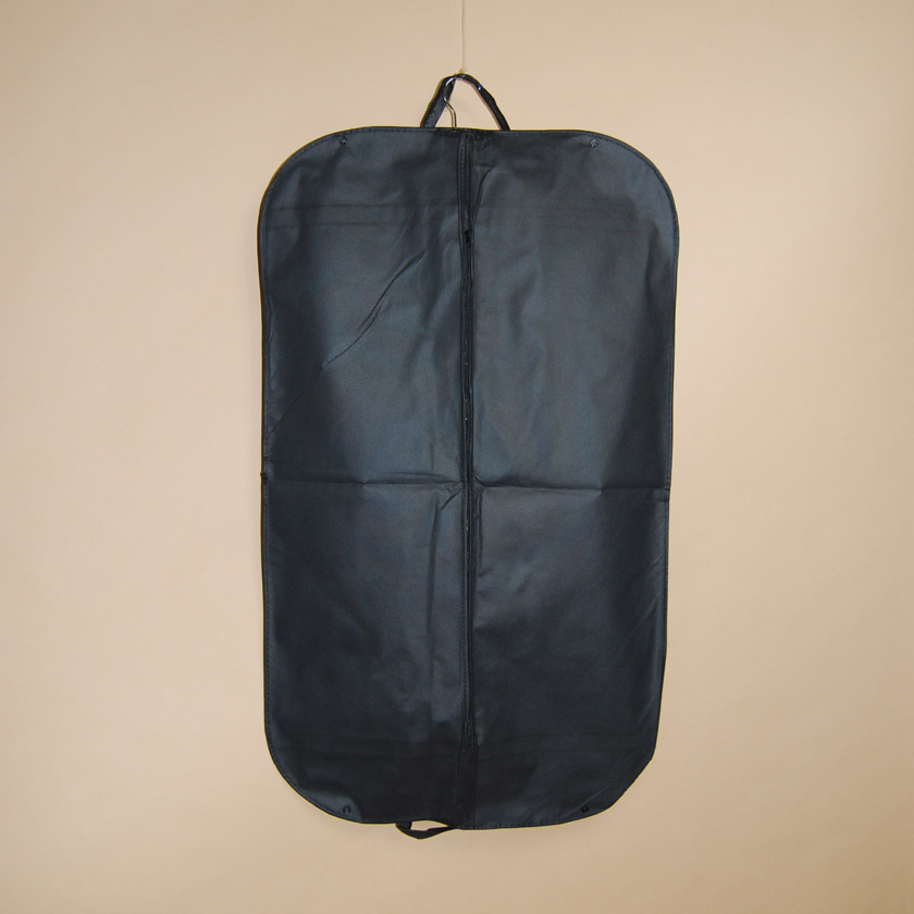 Designer Folding Garment Bag - Black
