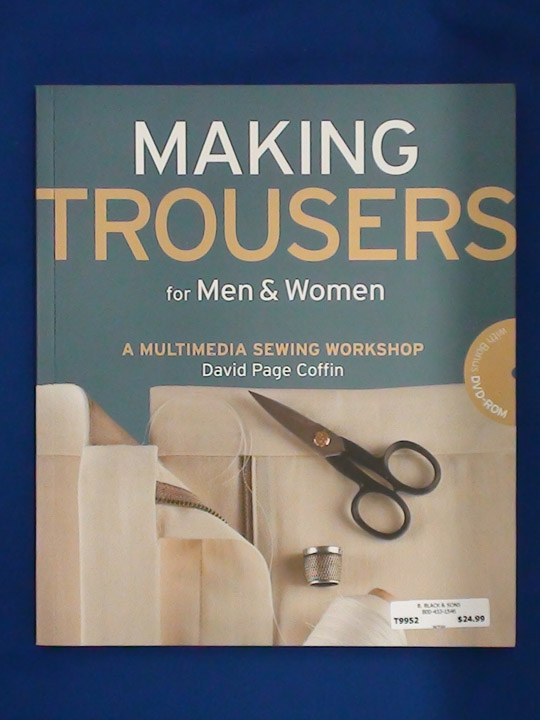 Making Trousers Book