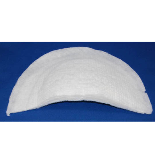 12 Ply Felt - Extra Large - White Shoulder Pads