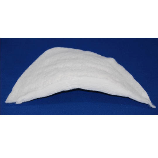 Men's 11 Ply Felt - White Shoulder Pads